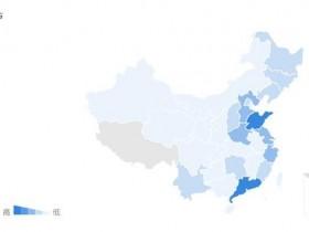 国内互联网用户的分布图,哪些城市互联网用户多?