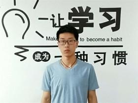 互联网营销面授班学员朱建个人简介