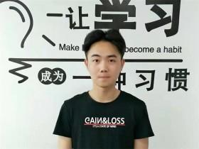 互联网营销面授班培训学员刘喆简介