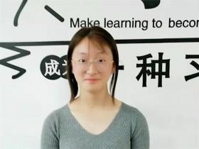 互联网营销培训面授班学员李梦茹简介
