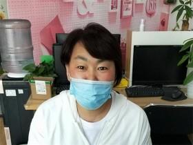 来自山东寿光的学员吴梅英,报名学习互联网营销