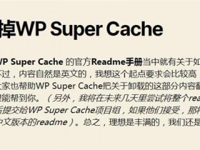 wordpress如何卸载WP Super Cache 清理无用垃圾?